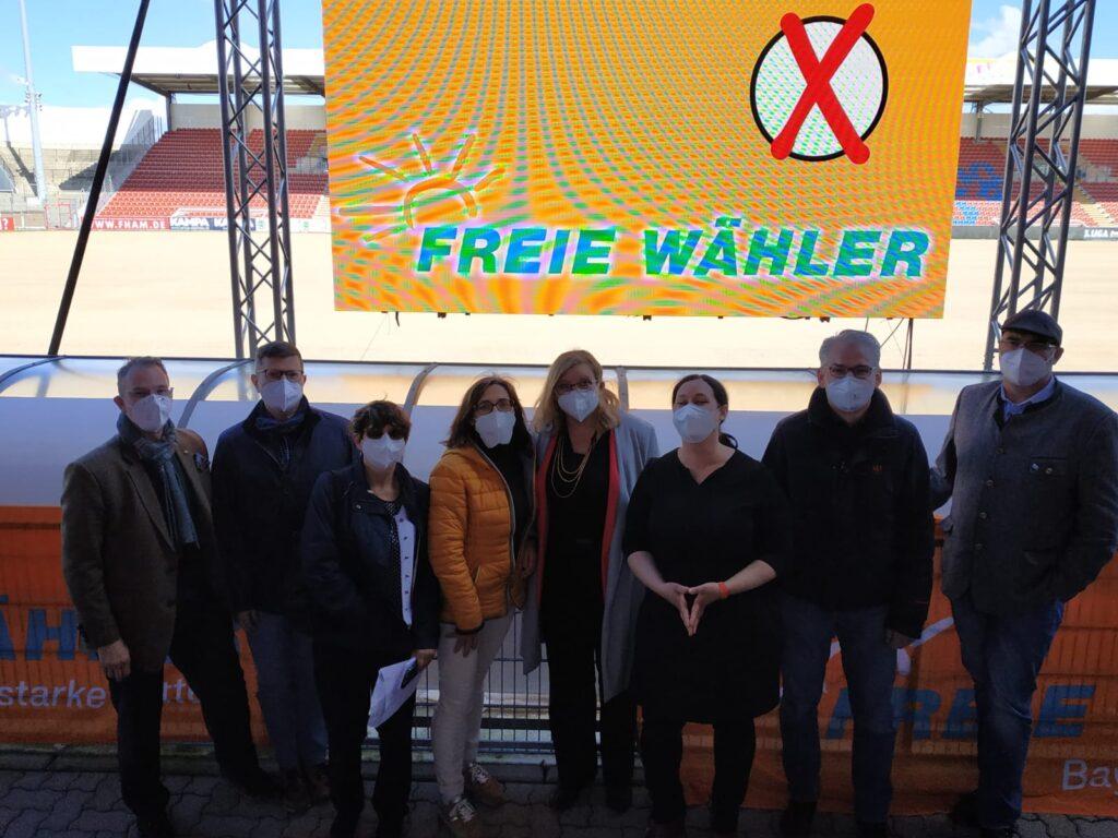 Wahlkampfteam aus Erding und Ebersberg bei der Aufstellungsversammlung