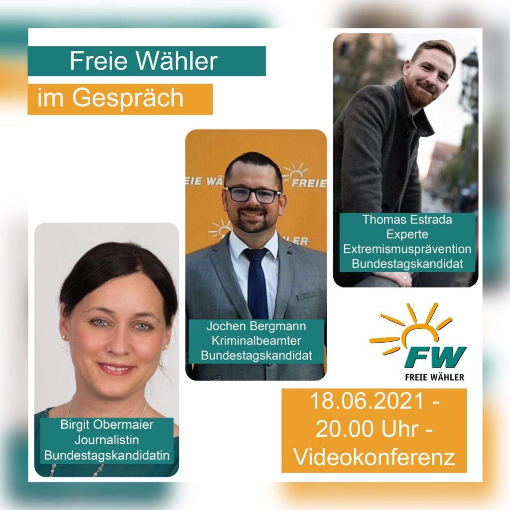 Bundestagskandidatin Birgit Obermaier lädt zum Gespräch über Innere Sicherheit