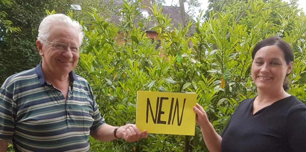 Wilfried Seidelmann und Birgit Obermaier sagen Nein zur Rente mit 68